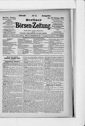 Berliner Börsen-Zeitung (21.10.1891)