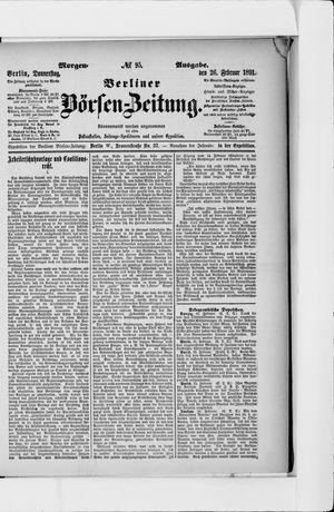 Berliner Börsen-Zeitung vom 26.02.1891