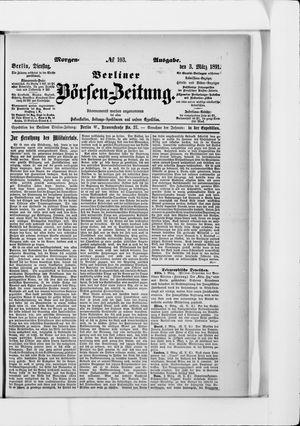 Berliner Börsen-Zeitung vom 03.03.1891