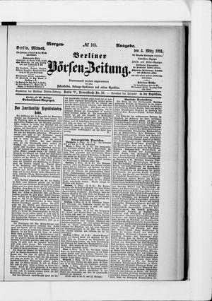 Berliner Börsen-Zeitung vom 04.03.1891