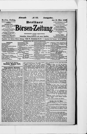 Berliner Börsen-Zeitung vom 13.03.1891