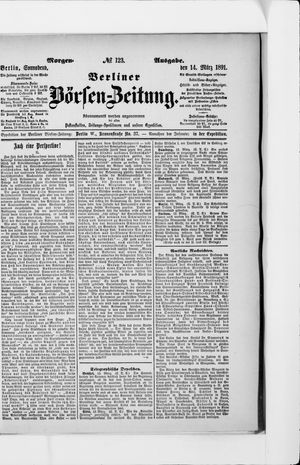 Berliner Börsen-Zeitung vom 14.03.1891