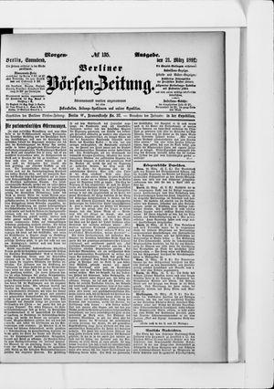 Berliner Börsen-Zeitung vom 21.03.1891
