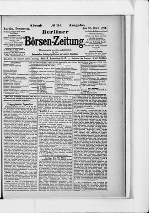 Berliner Börsen-Zeitung on Mar 26, 1891