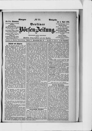 Berliner Börsen-Zeitung on Apr 4, 1891