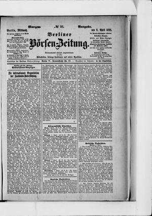 Berliner Börsen-Zeitung vom 08.04.1891