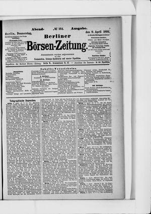 Berliner Börsen-Zeitung vom 09.04.1891