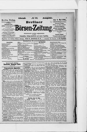 Berliner Börsen-Zeitung on May 8, 1891