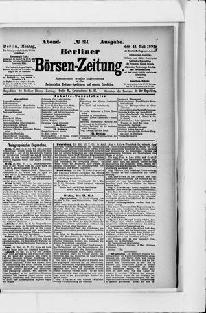 Berliner Börsen-Zeitung vom 11.05.1891