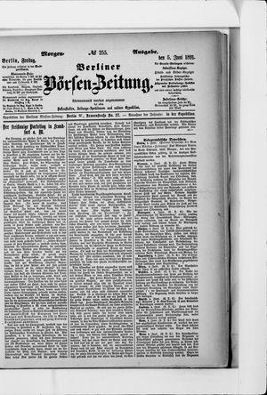 Berliner Börsen-Zeitung vom 05.06.1891