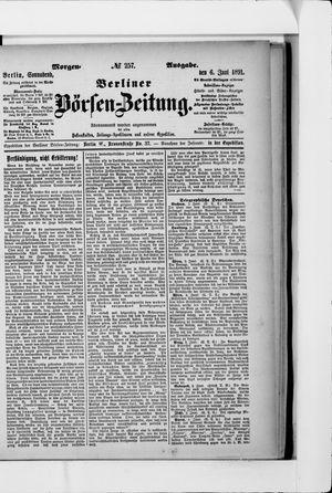 Berliner Börsen-Zeitung vom 06.06.1891