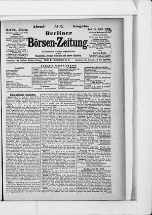 Berliner Börsen-Zeitung vom 15.06.1891