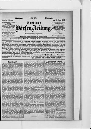 Berliner Börsen-Zeitung on Jun 19, 1891