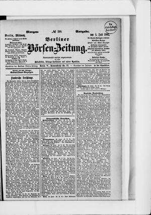 Berliner Börsen-Zeitung vom 01.07.1891