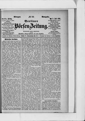 Berliner Börsen-Zeitung vom 03.07.1891