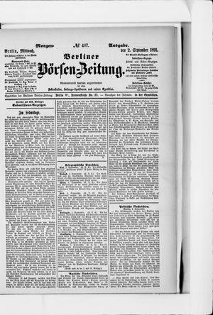 Berliner Börsen-Zeitung vom 02.09.1891