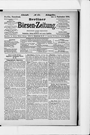 Berliner Börsen-Zeitung vom 05.09.1891