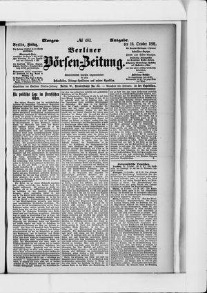 Berliner Börsen-Zeitung vom 16.10.1891
