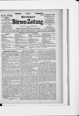 Berliner Börsen-Zeitung vom 12.02.1892