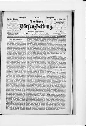 Berliner Börsen-Zeitung vom 01.03.1892