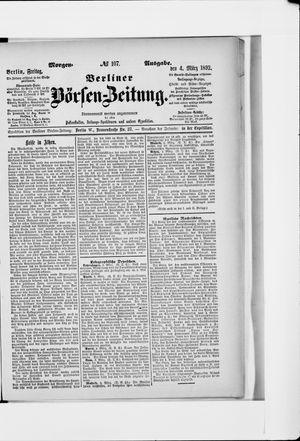 Berliner Börsen-Zeitung on Mar 4, 1892