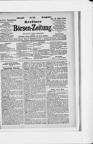 Berliner Börsen-Zeitung vom 12.03.1892