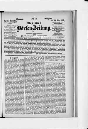 Berliner Börsen-Zeitung vom 24.03.1892