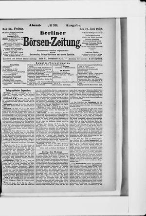 Berliner Börsen-Zeitung vom 10.06.1892