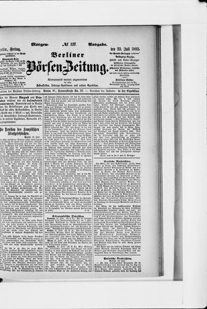 Berliner Börsen-Zeitung vom 22.07.1892