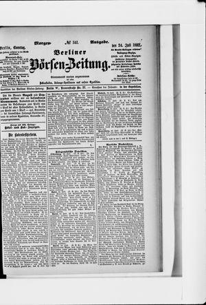 Berliner Börsen-Zeitung vom 24.07.1892