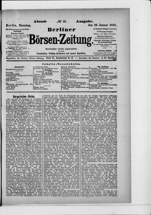 Berliner Börsen-Zeitung vom 10.01.1893