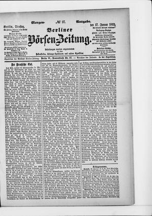 Berliner Börsen-Zeitung vom 17.01.1893