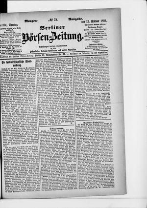 Berliner Börsen-Zeitung vom 12.02.1893