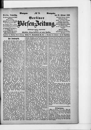 Berliner Börsen-Zeitung vom 16.02.1893