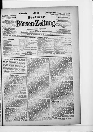 Berliner Börsen-Zeitung vom 24.02.1893