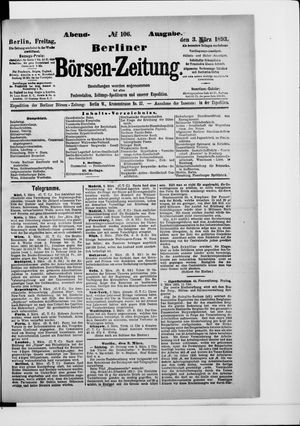 Berliner Börsen-Zeitung vom 03.03.1893