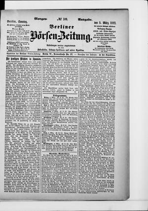 Berliner Börsen-Zeitung vom 05.03.1893