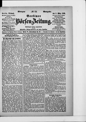 Berliner Börsen-Zeitung vom 08.03.1893