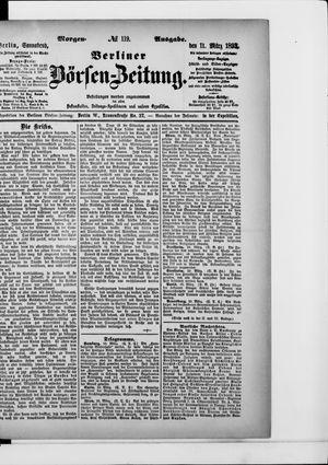Berliner Börsen-Zeitung vom 11.03.1893