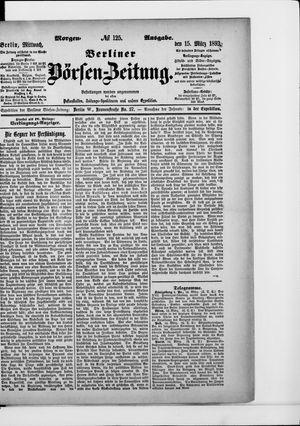 Berliner Börsen-Zeitung vom 15.03.1893