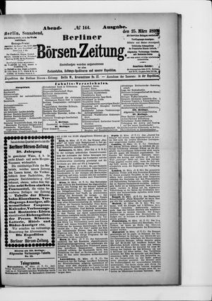 Berliner Börsen-Zeitung vom 25.03.1893