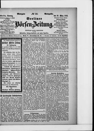 Berliner Börsen-Zeitung vom 26.03.1893