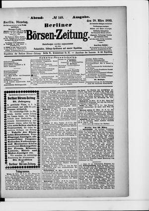 Berliner Börsen-Zeitung vom 28.03.1893