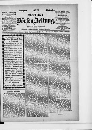 Berliner Börsen-Zeitung vom 30.03.1893