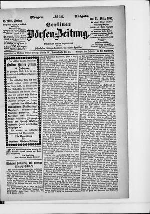 Berliner Börsen-Zeitung vom 31.03.1893