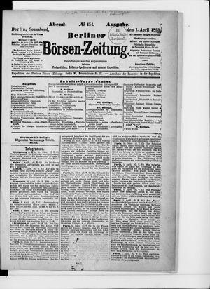 Berliner Börsen-Zeitung vom 01.04.1893