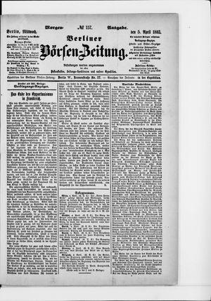 Berliner Börsen-Zeitung vom 05.04.1893