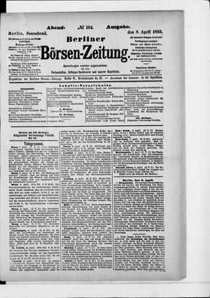Berliner Börsen-Zeitung vom 08.04.1893