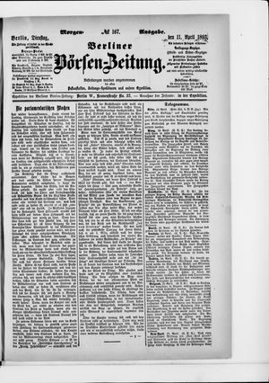 Berliner Börsen-Zeitung vom 11.04.1893