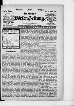 Berliner Börsen-Zeitung vom 14.04.1893